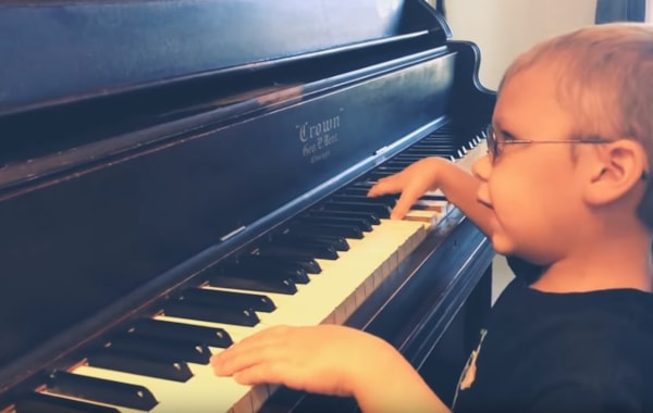 6 year old piano prodigy