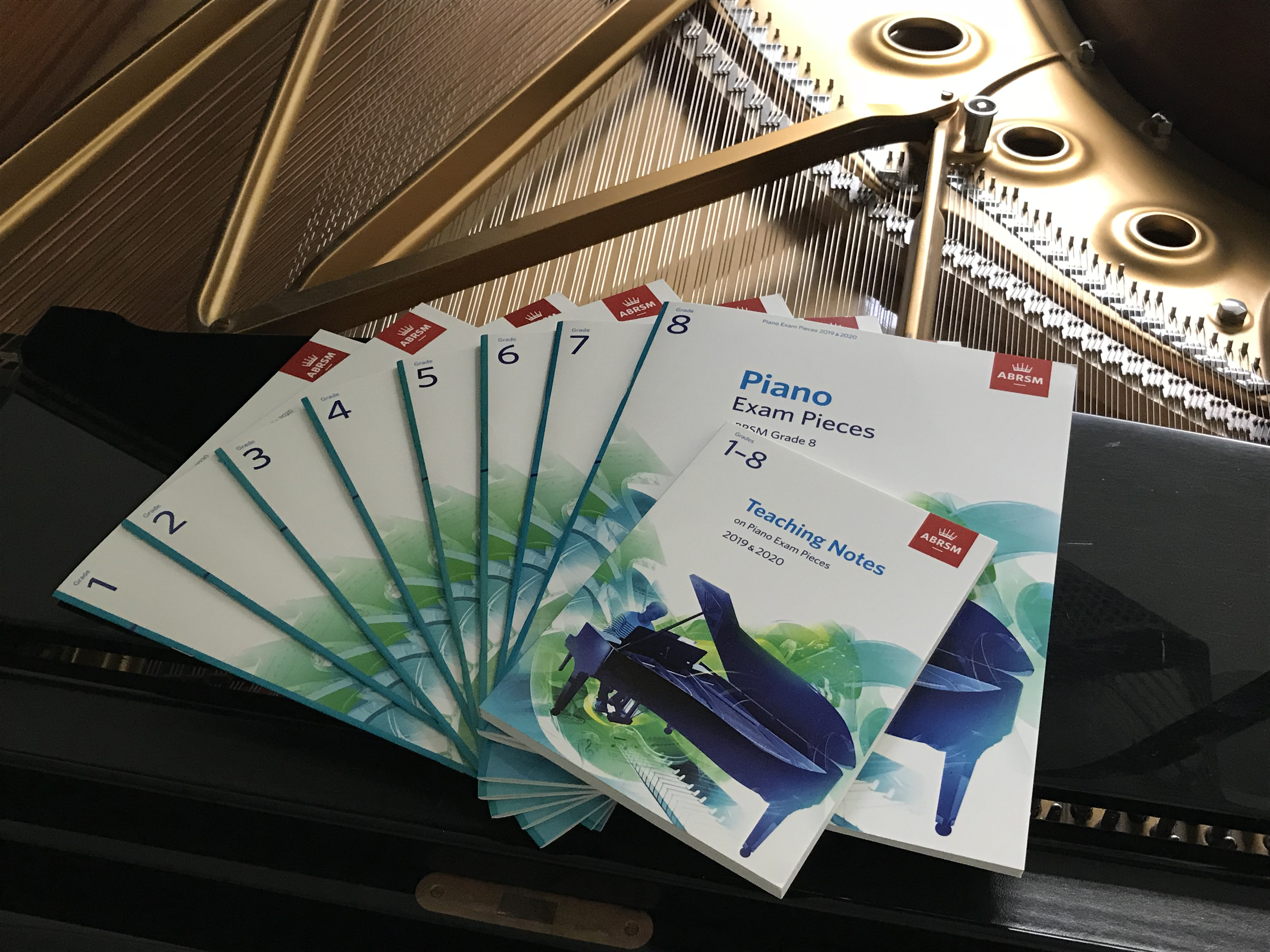 The Manual of Scales /& Arpeggios LEARN EASY LESSON Piano Music ABRSM Book TUTOR