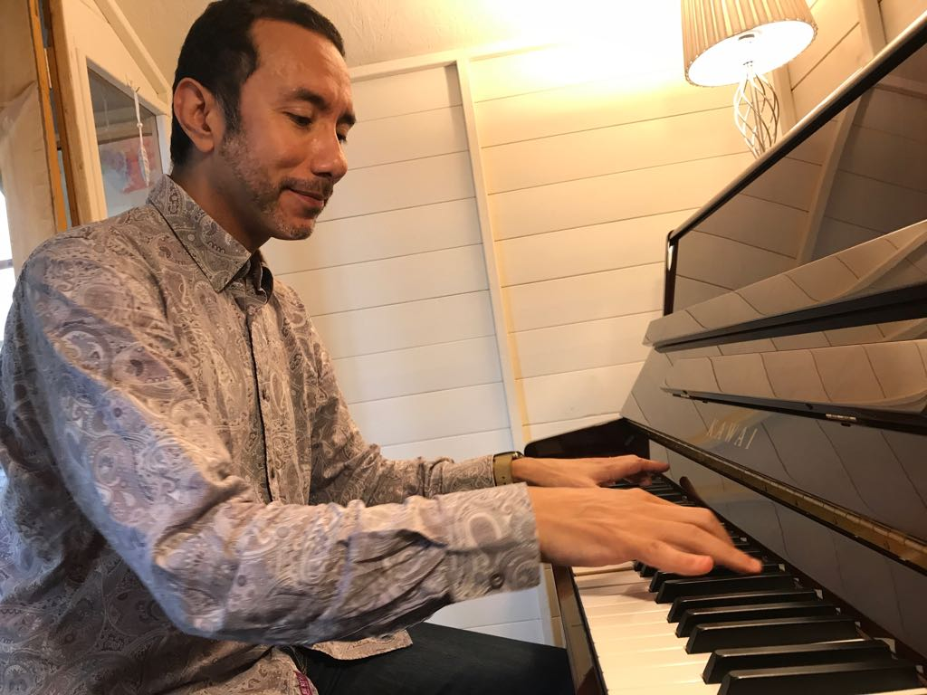 2019 Pianist Composing Competition winner Bob Rose