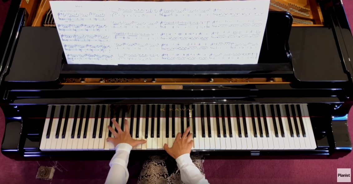 Chenyin Li plays Beethoven's Adieu