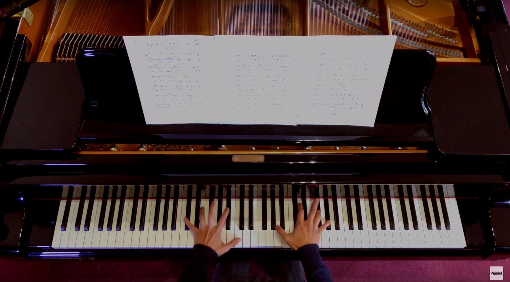 Chenyin Li performs Rebikov