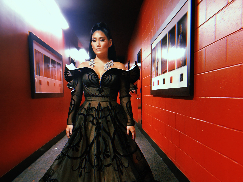 Chloe Flower at the Grammys 2019
