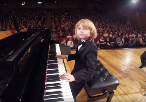 Elisha Russian young pianist