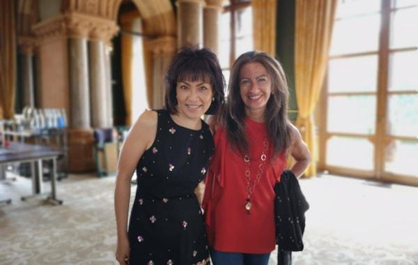 Erica Worth and Noriko Ogawa