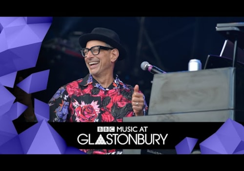 Jeff Goldblum Glastonbury c. Consequence of Sound
