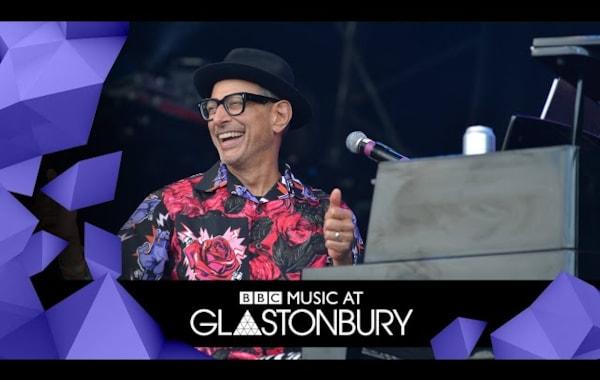 Jeff Goldblum Glastonbury c. Consequence of Sound
