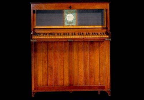 John Hawkins upright piano