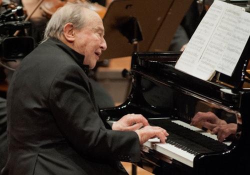 Menahem Pressler debut with the Berlin Philharmoniker