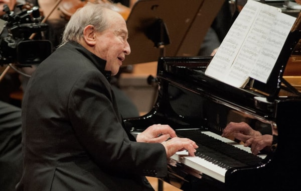 Menahem Pressler debut with the Berlin Philharmoniker