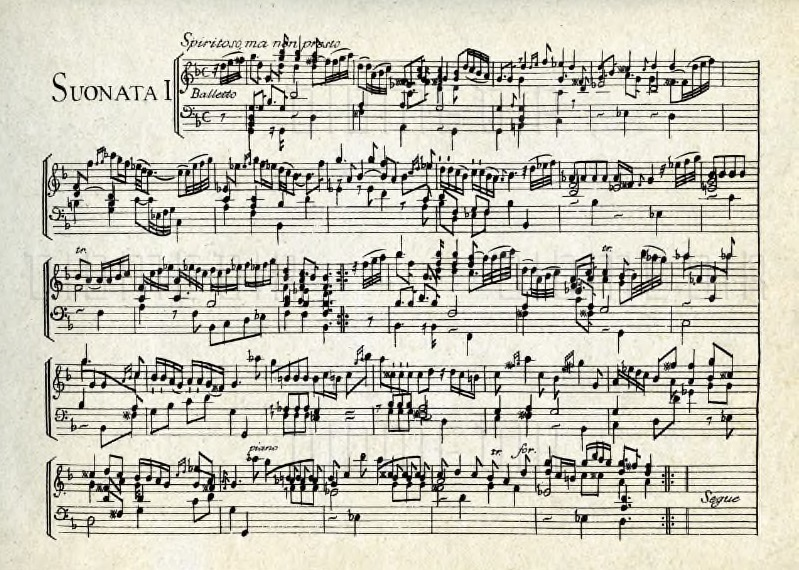 12 Sonate da cimbalo di piano e forte.