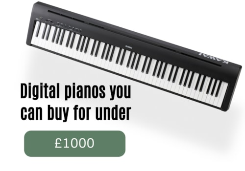 Digital pianos you can buy for under 1000