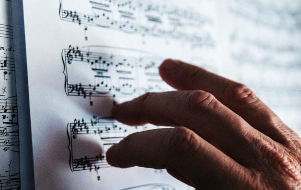 Pianist sheet music