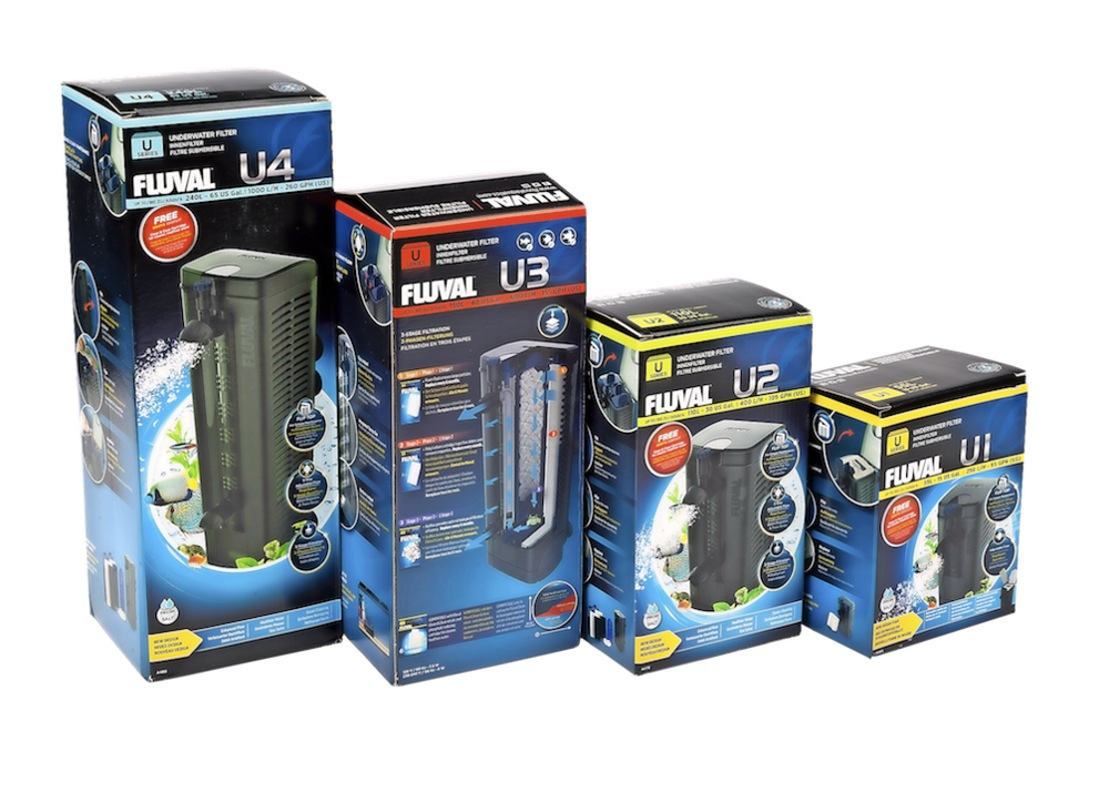 The new Fluval U Series of filters may look the same, but there have been several tweaks to improve the design.