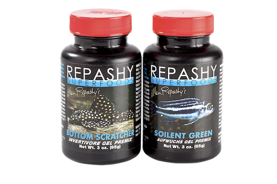 Repashy superfoods cater for some of the most finicky fish out there.
