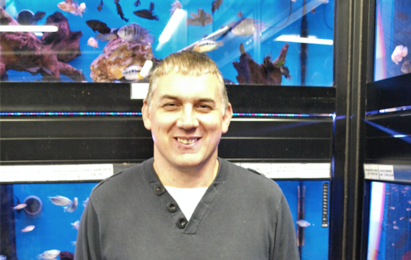 Andrew Gill (pictured above)has bought Tri-Mar Aquaria & Reptiles from Monty Ray, who has been running the shop since 1987 and has decided to retire.