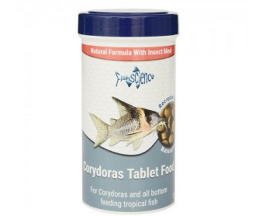 The new Corydoras tablet food from FishScience.
