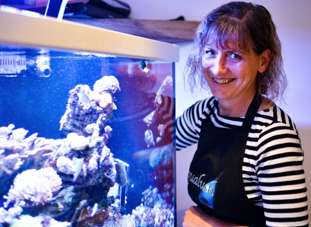Karen Hunt is the owner and manager of new marine store Aqualush, which has its official opening on October 7.