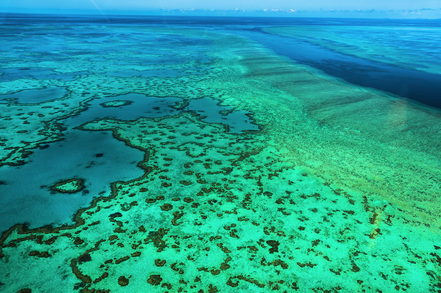 The Great Barrier Reef is valued at more than 12 Sydney Opera Houses.