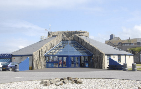 Image of Macduff Marine Aquarium by  Bill Harrison, Creative Commons.