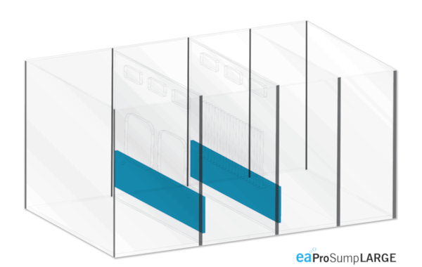EA's new sumps are available either as part of the eaReefPro aquarium package, or as a separate item for marine fishkeepers who already have a tank.