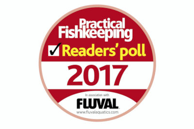 Share the love! Vote for your top shop in the Practical Fishkeeping Readers' Poll.