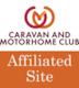 Caravan and Motorhome Cllub Affiliated Site