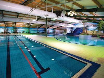 The Oasis indoor swimming and leisure complex at West Sands