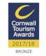 Cornwall Tourism Awards 2017/18 - Bronze