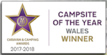 Caravan & Camping Awards 2017/18 - Campsite of the Year Wales Winner