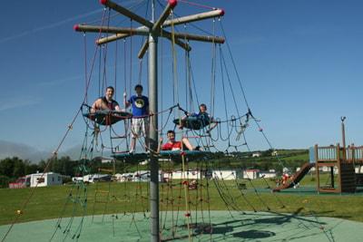 Family friendly at Ballyness Caravan Park