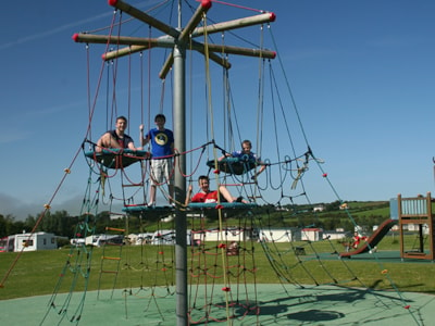 Family friendly at Ballyness Caravan Park