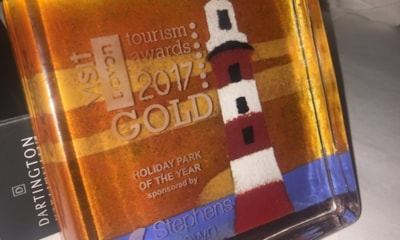 Visit South West Gold award