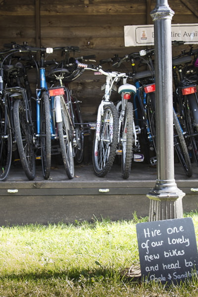 Bike hire available on site