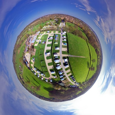 Worldly view of South Lytchett Manor