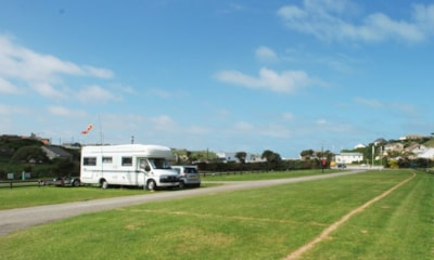 All pitches give direct access to the tarmac road