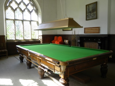 Billiard Room in Hall