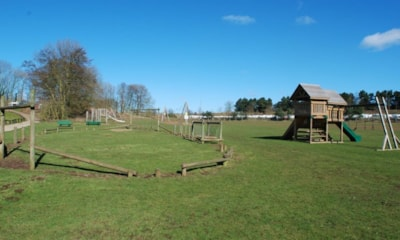 Children will enjoy burning off energy on the play area