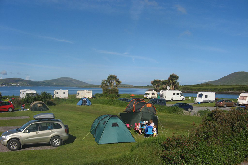 Camping in Kerry - Mannix Point Camping & Caravan Park