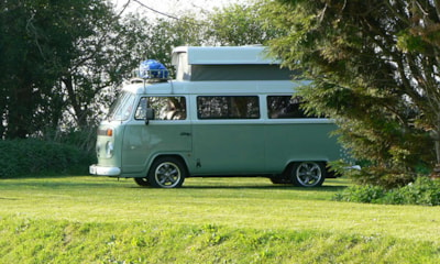 Campervans also welcome!