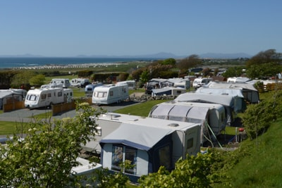 Motorhomes and caravans are catered for