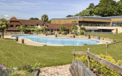 Cofton's outdoor pool
