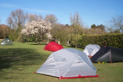 Camping pitches available