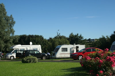 Tranquil caravan park