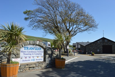The park located in Snowdonia overlooking Cardigan Bay