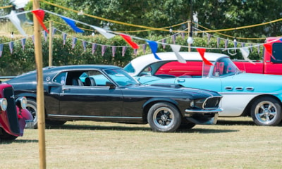 Our annual American Car Show takes place every July