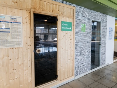 Sauna and Team rooms