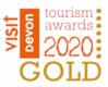 Devon Tourism Award Gold 2020