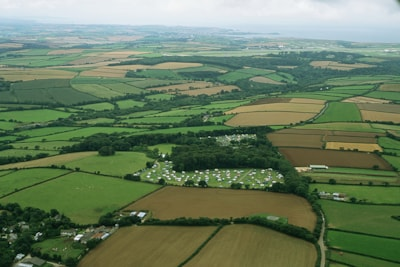 Aerial View, 4 miles from coast