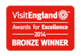 VisitEngland Award Winner