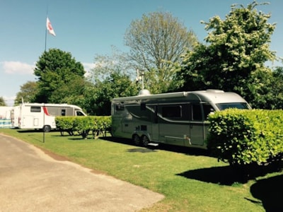 Motorhomes, Caravans and tents catered for